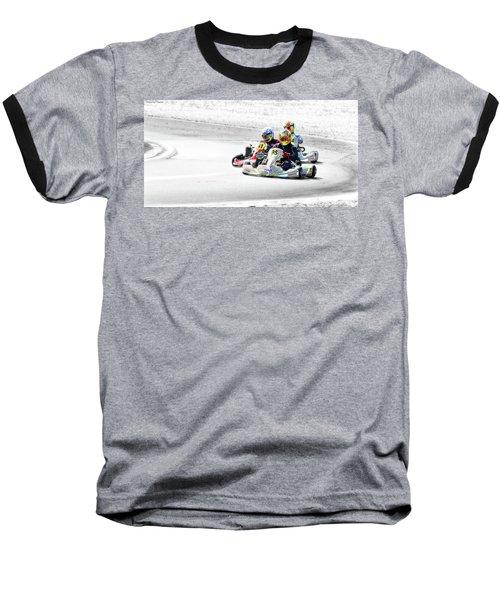 Wingham Go Karts 04 Baseball T-Shirt