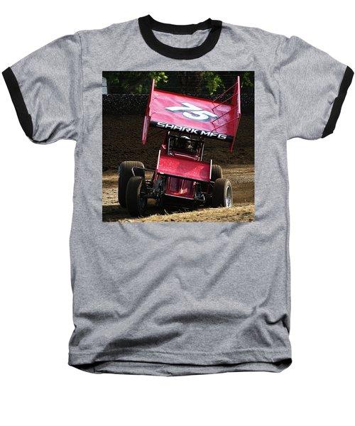 Wingin' It Into The Turn Baseball T-Shirt