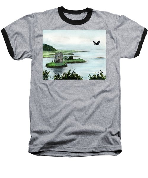 Winging Over Stalker Baseball T-Shirt
