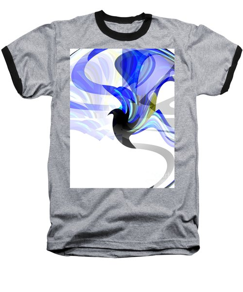 Wings Of Freedom Baseball T-Shirt by Thibault Toussaint
