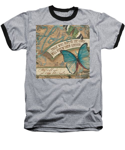 Wings Of Hope Baseball T-Shirt