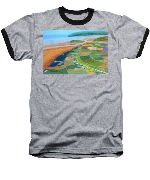 Wings Over Grand Pre' Baseball T-Shirt