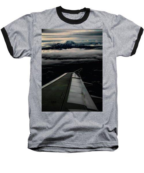 Wings Over Rainier Baseball T-Shirt
