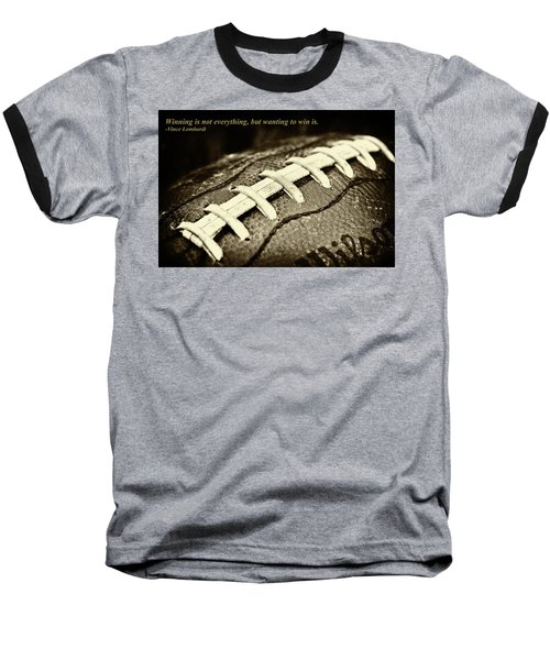 Winning Is Not Everything - Lombardi Baseball T-Shirt