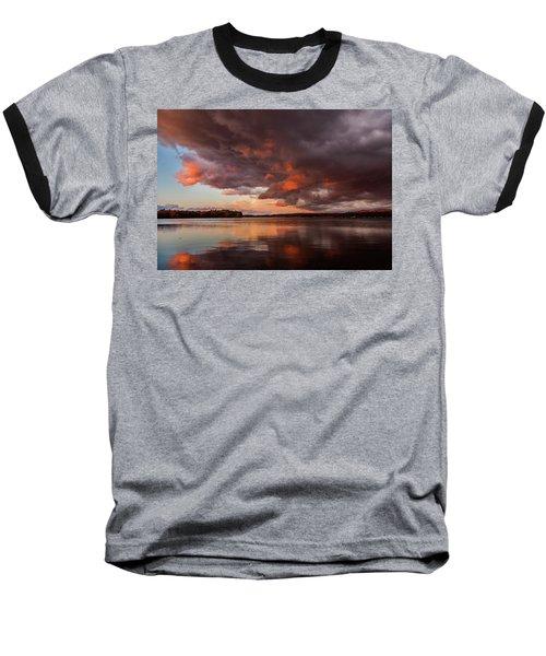 Winnisquam Sunset Baseball T-Shirt