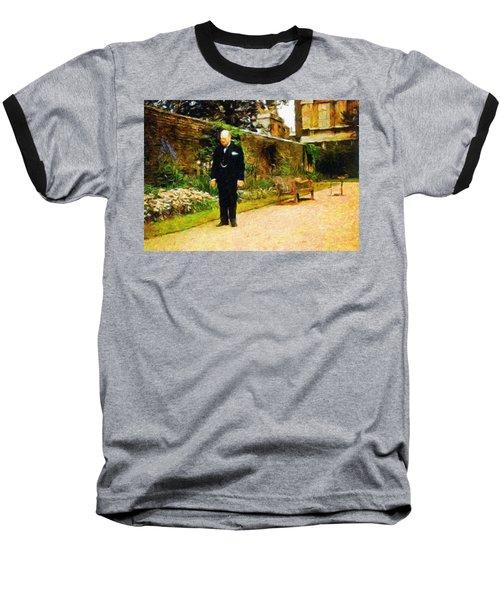 Winston Churchill, 1943 Baseball T-Shirt