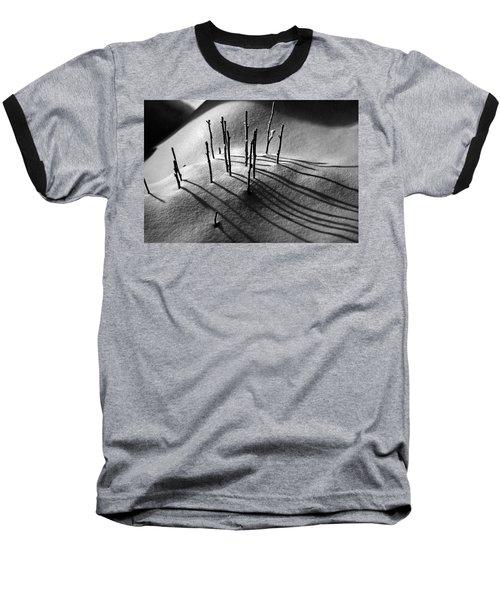 Winter 5 Baseball T-Shirt by Alex Galkin