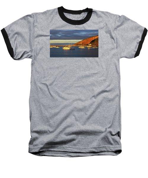 Baseball T-Shirt featuring the photograph Winter Afternoon Sun At Friendly Bay by Nareeta Martin