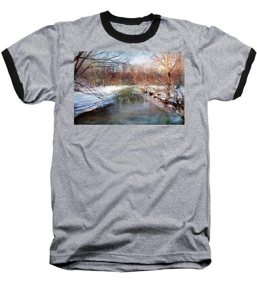 Winter At Cooper River Baseball T-Shirt