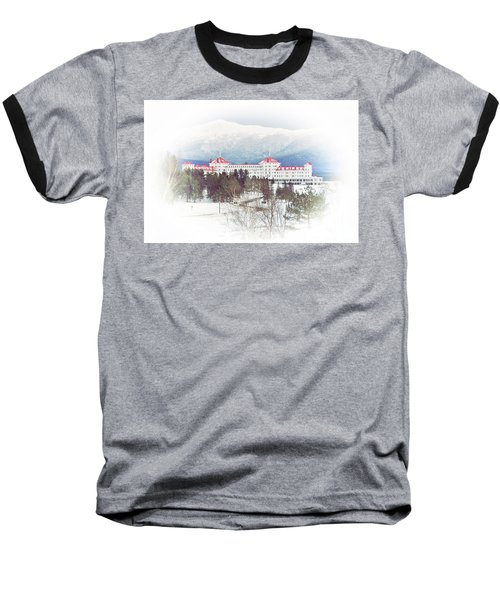 Winter At The Mt Washington Hotel 2 Baseball T-Shirt