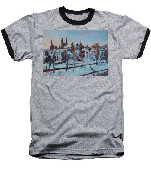 Winter Basilica Our Lady Maastricht Baseball T-Shirt