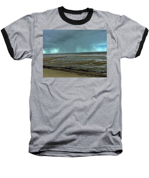 Baseball T-Shirt featuring the photograph Winter Beach by Debbie Cundy