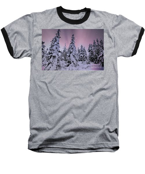 Winter Beauty Baseball T-Shirt