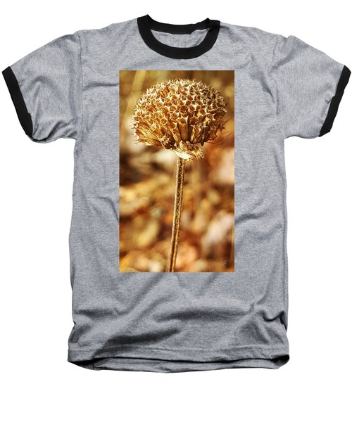 Winter Bee Balm Baseball T-Shirt