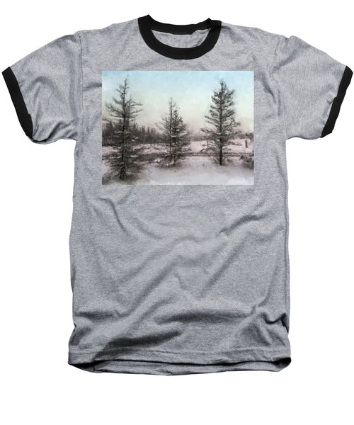 Winter Begins Baseball T-Shirt