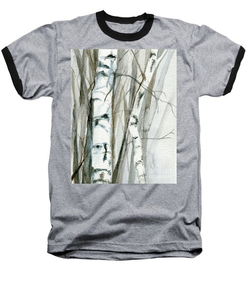 Winter Birch Baseball T-Shirt