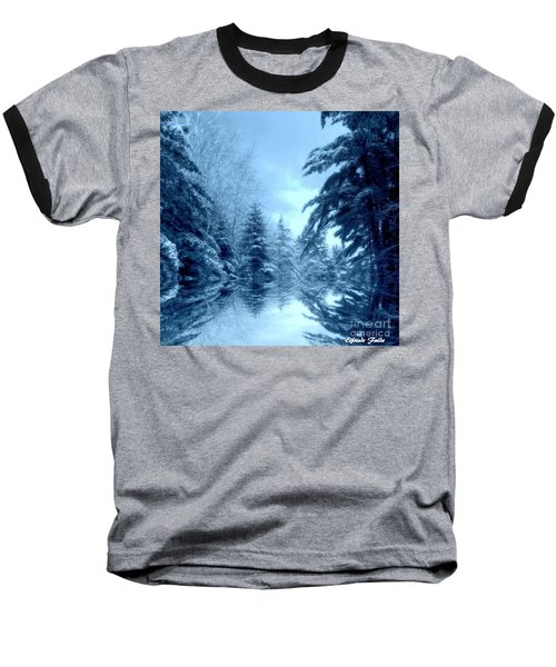Winter Blues Baseball T-Shirt