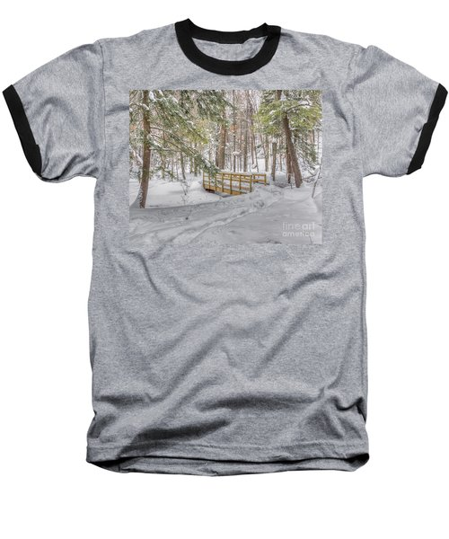 Winter Bridge Baseball T-Shirt
