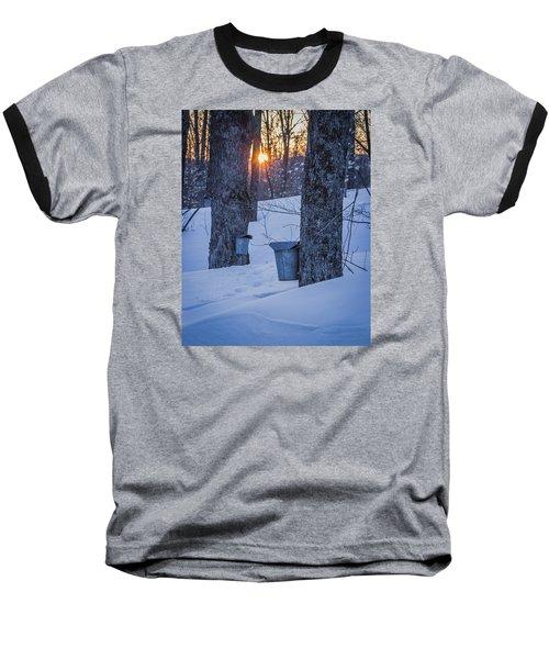 Winter Buckets Baseball T-Shirt