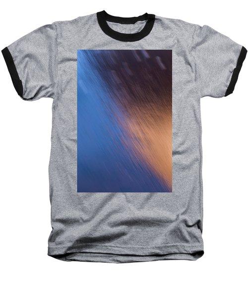Winter Canyon Blues Baseball T-Shirt