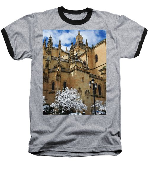 Winter Cathedral Baseball T-Shirt