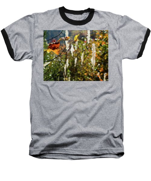 Baseball T-Shirt featuring the photograph Winter Color by George Randy Bass