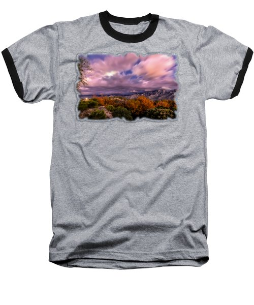Winter Colors 25 Baseball T-Shirt by Mark Myhaver