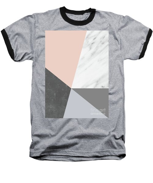 Winter Colors Collage Baseball T-Shirt