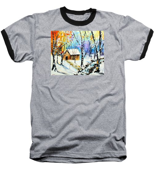Winter Colors Baseball T-Shirt