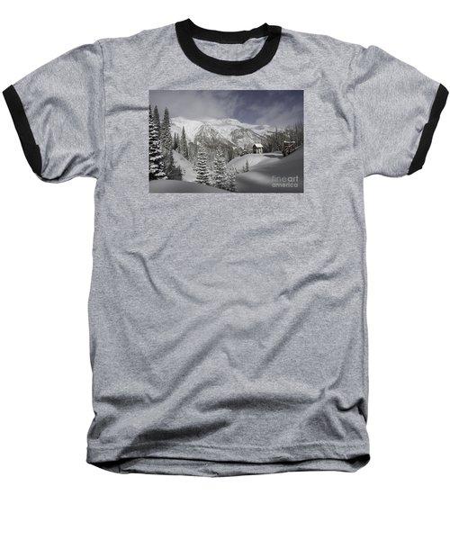 Winter Comes Softly Baseball T-Shirt