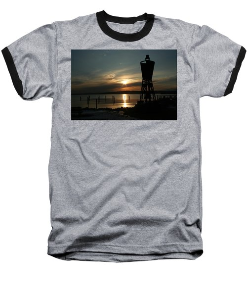 Winter Dawn Baseball T-Shirt