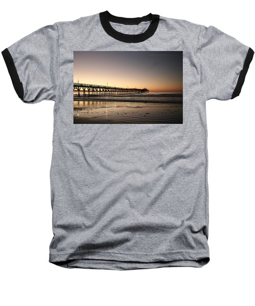 Winter Dawn Baseball T-Shirt