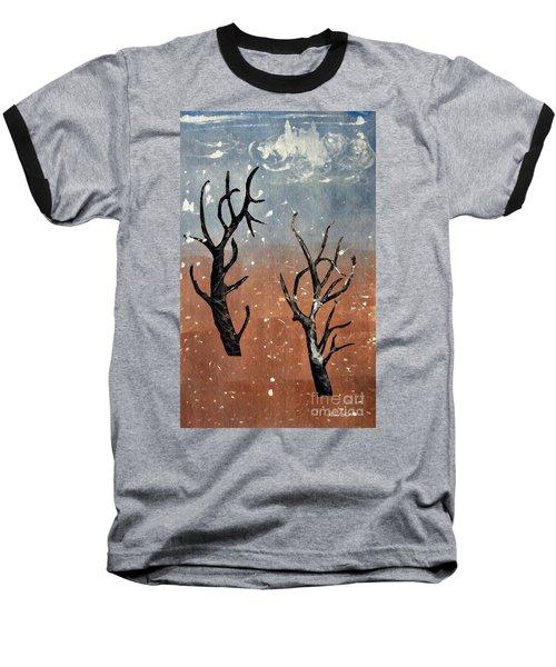 Winter Day Baseball T-Shirt by Sarah Loft