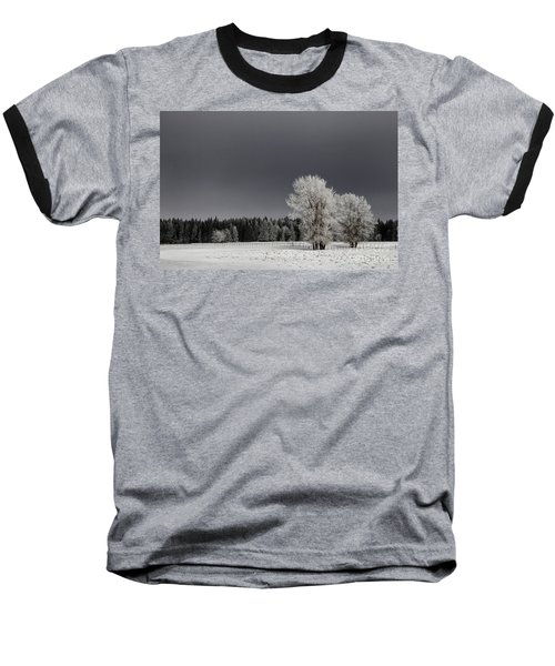 Winter Dreamscape Baseball T-Shirt