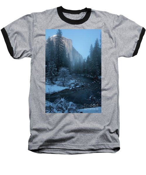 Winter El Cap  Baseball T-Shirt