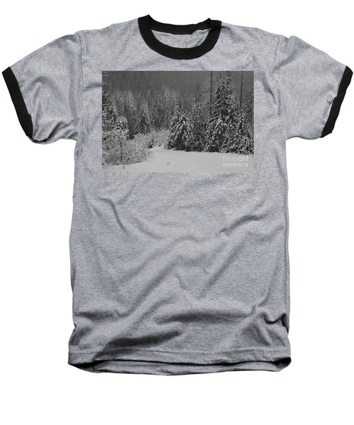 Baseball T-Shirt featuring the photograph Winter Fairy Tale by Yulia Kazansky