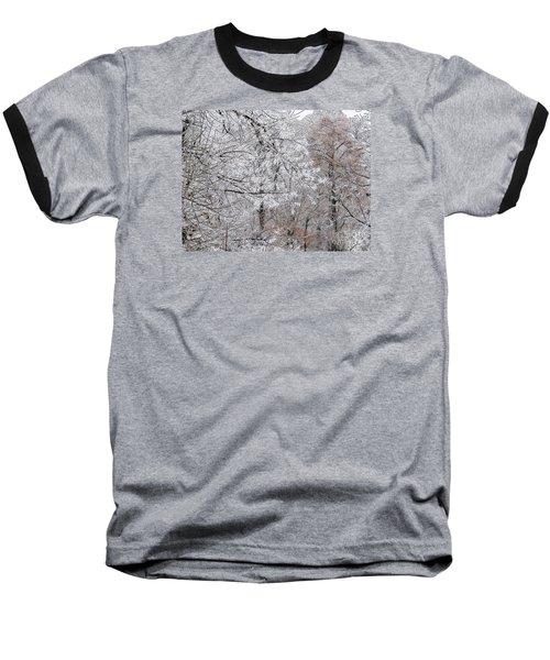 Winter Fantasy Baseball T-Shirt by Craig Walters