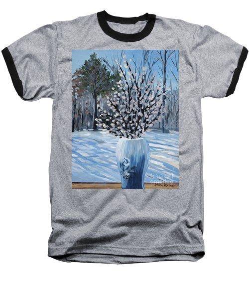 Winter Floral Baseball T-Shirt