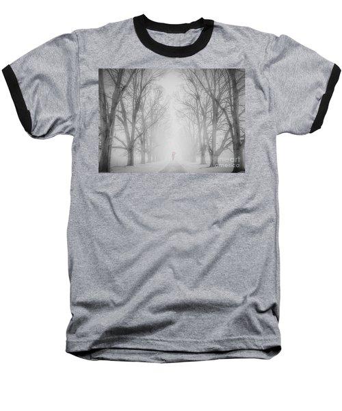 Winter Fog Baseball T-Shirt