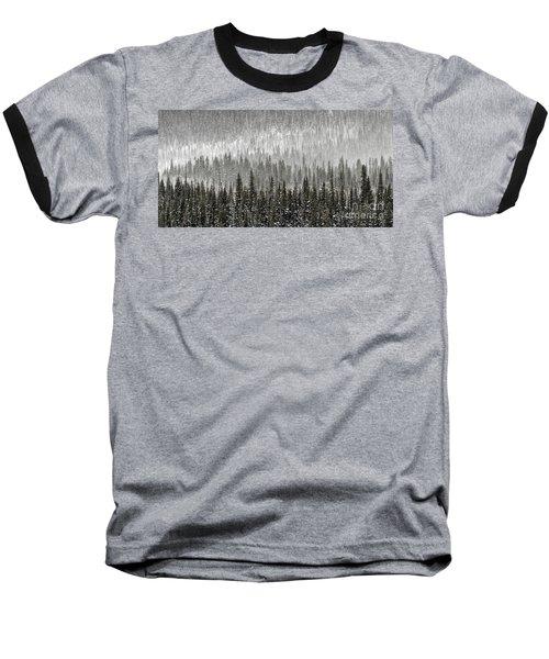 Winter Forest Baseball T-Shirt