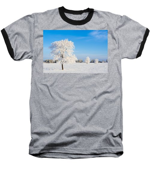 Winter Frostland Baseball T-Shirt