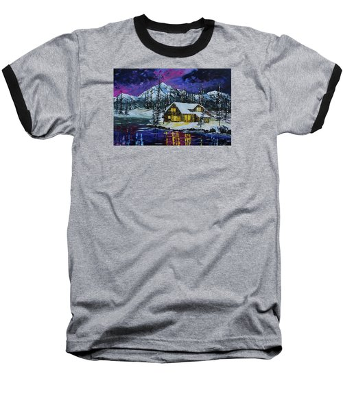 Winter Getaway Baseball T-Shirt
