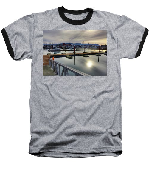 Winter Harbor Baseball T-Shirt by Chriss Pagani