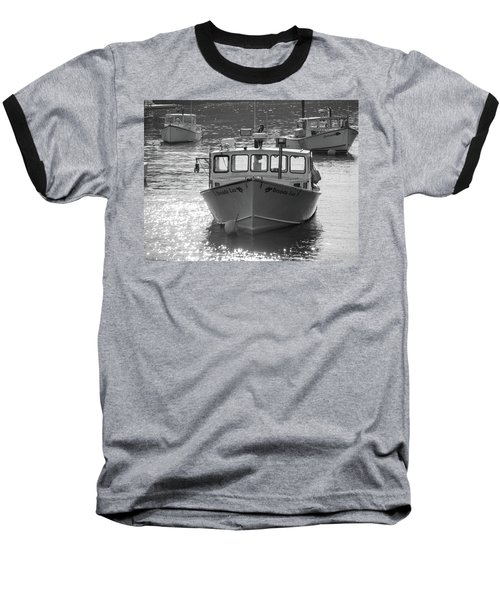 Baseball T-Shirt featuring the photograph Winter Harbor, Maine  by Trace Kittrell
