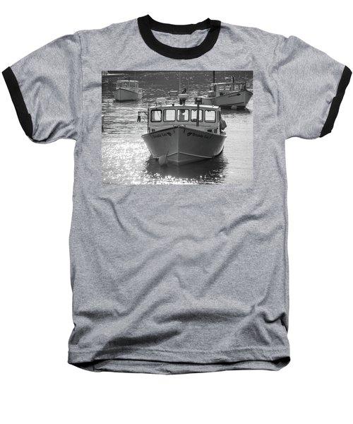 Winter Harbor, Maine  Baseball T-Shirt by Trace Kittrell