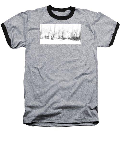 Snowy Forest - North Carolina Baseball T-Shirt
