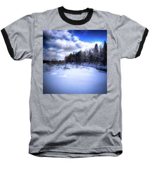 Baseball T-Shirt featuring the photograph Winter Highlights by David Patterson
