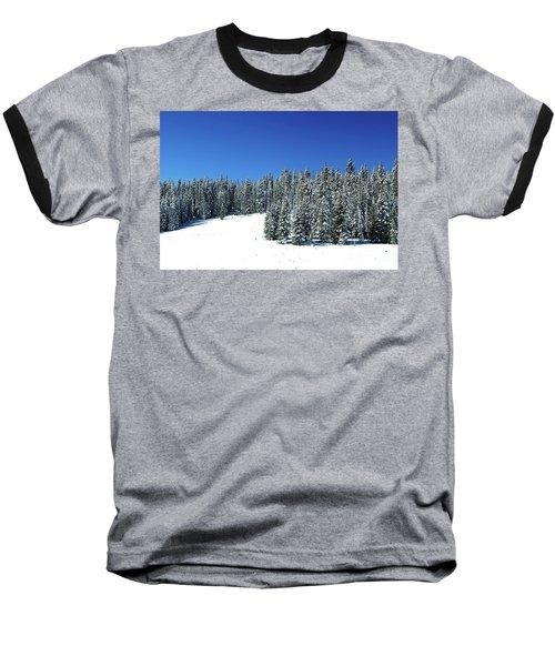Winter In Colorado  Baseball T-Shirt