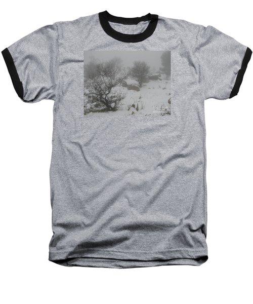 Baseball T-Shirt featuring the photograph Winter In Israel by Annemeet Hasidi- van der Leij