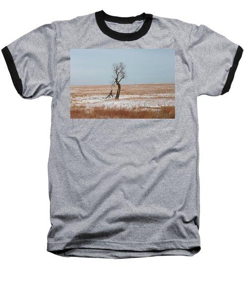 Winter In Kansas Baseball T-Shirt